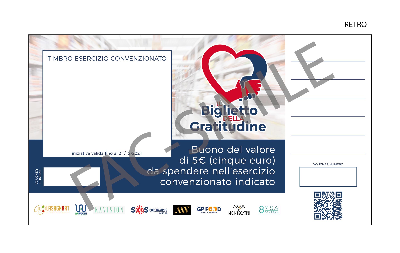 biglietto della gratitudine